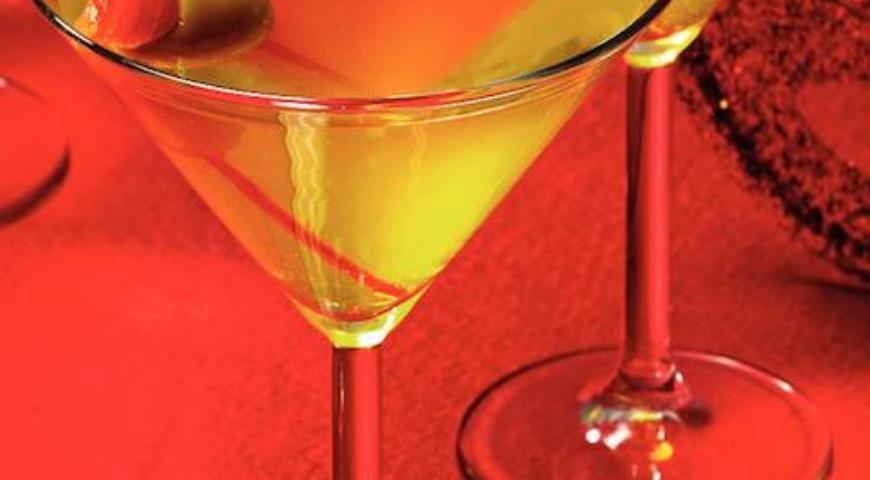 Рецепт Кокейль Dry Martini = заливная рыба