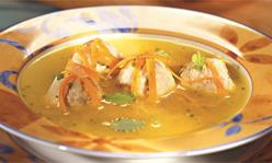 Итальянский суп с фрикадельками, суп