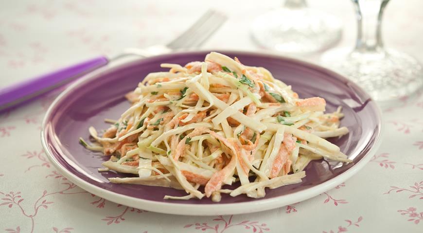 пошаговый фото рецепт салата из капусты