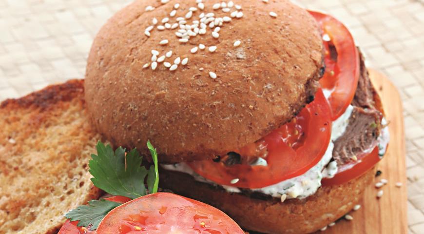 Рецепт Cэндвич с бараниной