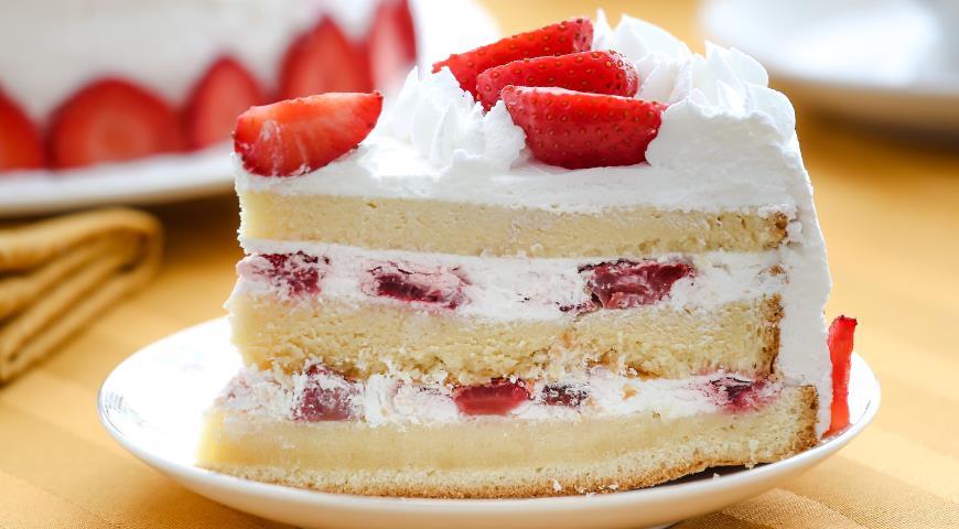Бисквитный торт с подтеками рецепт