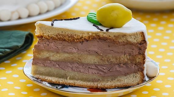 Торт Цитрусовое дерево