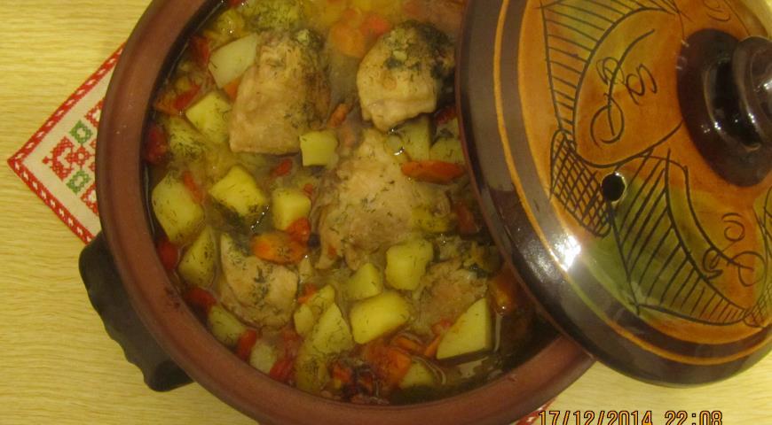 Печеня з куркою