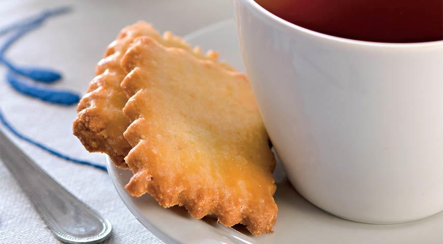 Рецепт Имбирное печенье с миндалем