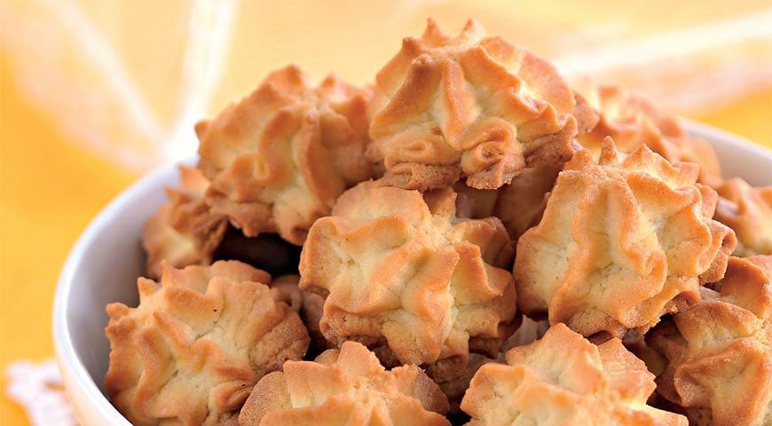 Тающее во рту печенье на майонезе, пошаговый рецепт с фото