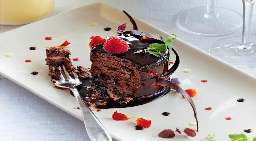 Рецепт Шоколадный торт-мусс
