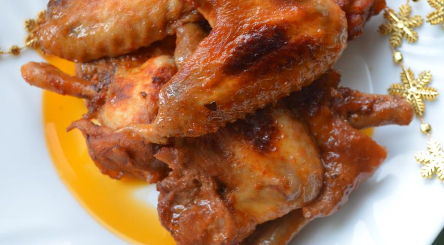 Рецепт Куриные крылышки в соевом соусе