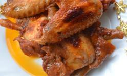 Куриные крылышки в соевом соусе, второе блюдо, закуска