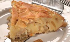 Творожная запеканка с яблоками, закуска, десерт