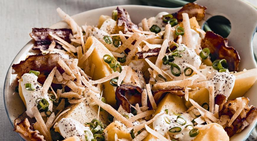 Рецепт Салат из печеного картофеля