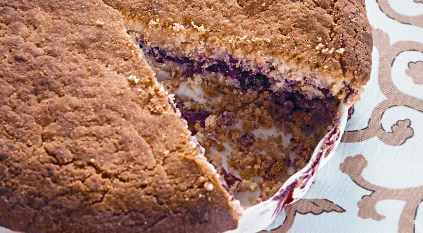 Рецепт Клюквенный пирог