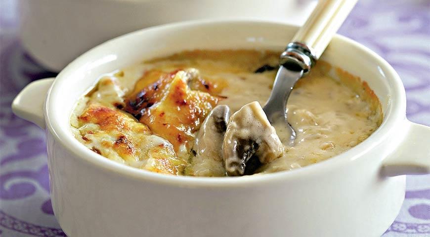 рецепт жульена с грибами.