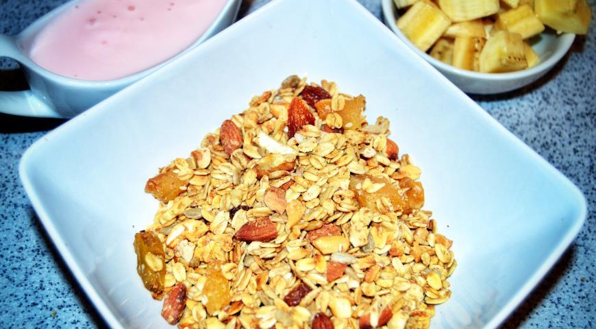 Рецепт Гранола (домашние мюсли)