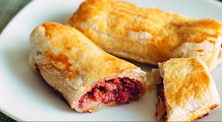 Рецепт Быстрые мясные пирожки