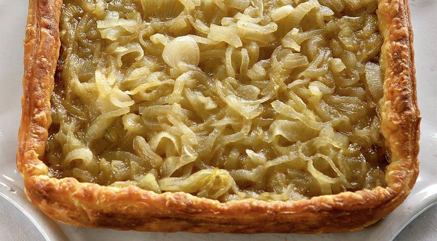 Рецепт Луковый пирог с медом