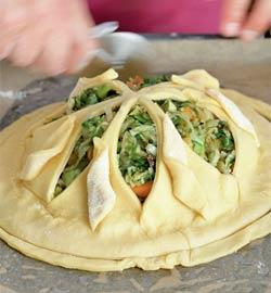 Пирог с зеленью. Шаг 7