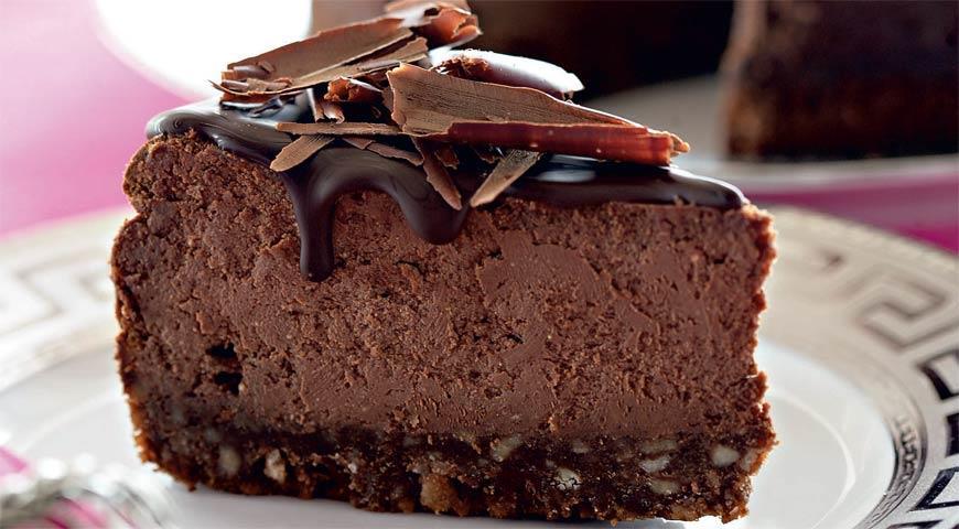 Рецепт Шоколадно-творожный чизкейк