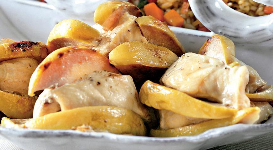 Курица с айвой рецепты