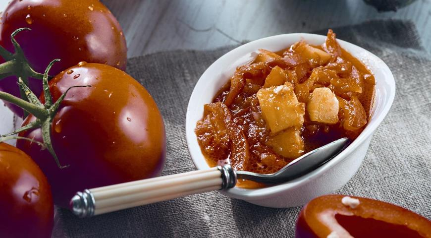 Рецепт Лечо из перца с кабачками