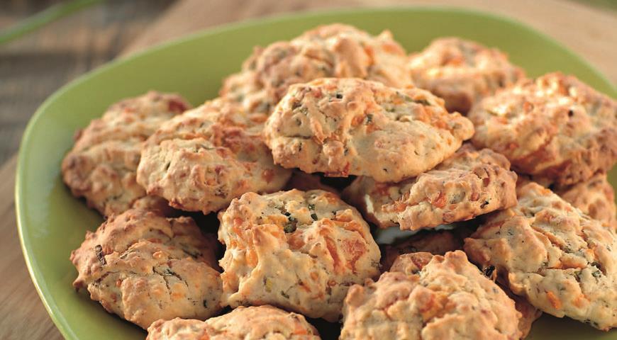 Рецепт Печенье с зеленым луком