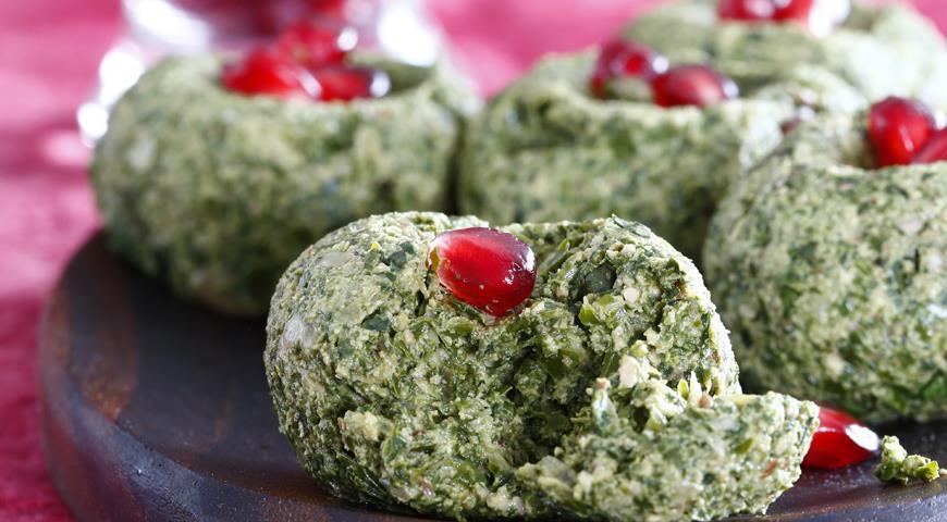 Рецепт Пхали из свежей зелени
