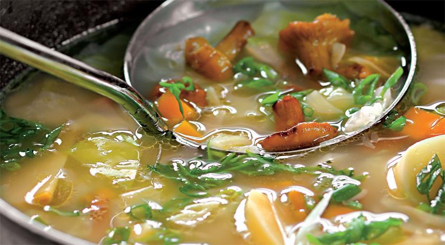 Рецепт Похлебка из соленых грибов