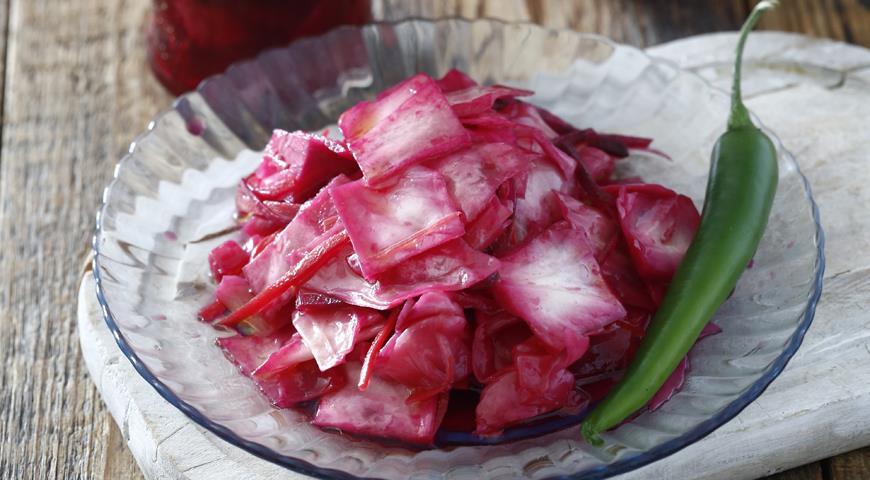 Рецепт Маринованная капуста по-гурийски