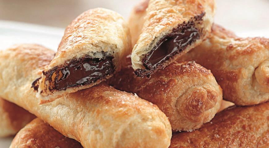 Рецепт Рулетики с шоколадом