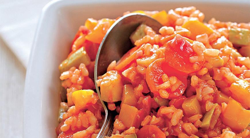 Рецепт Овощи с рисом