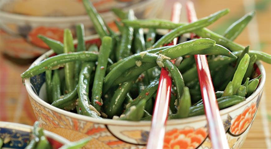 Рецепт Зеленая фасоль в китайском стиле