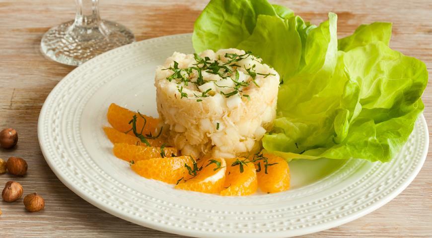 Рецепт Салат с сельдереем и яблоками