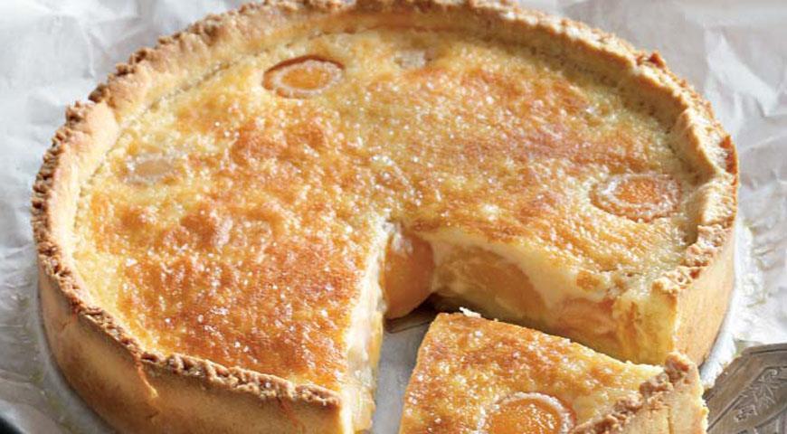 Рецепт Рассыпчатый абрикосовый торт