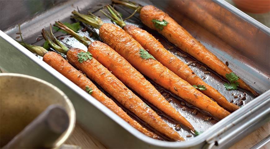 Рецепт Печеная морковь