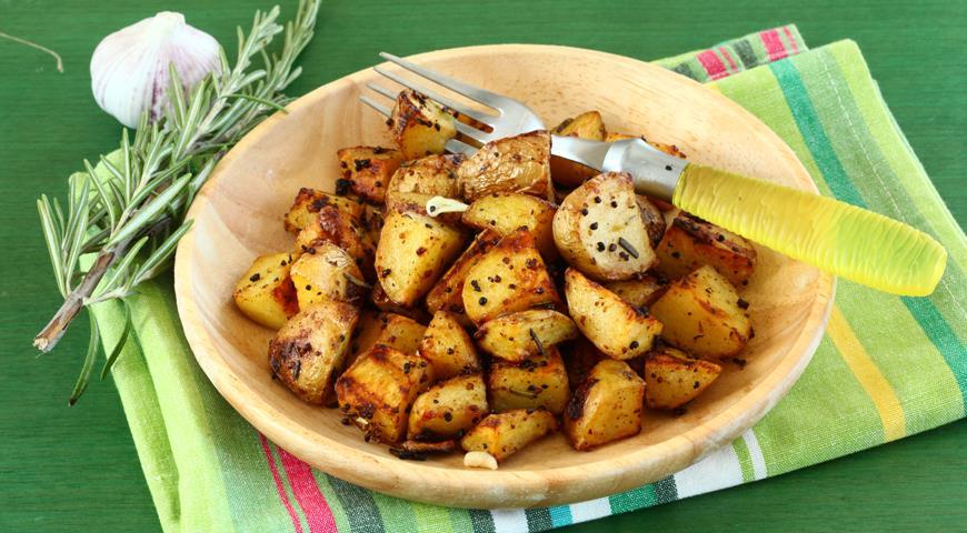 Рецепт Запеченный картофель с горчицей