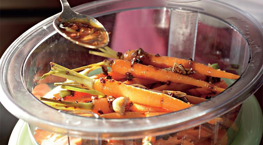 Рецепт Морковь в марокканском стиле