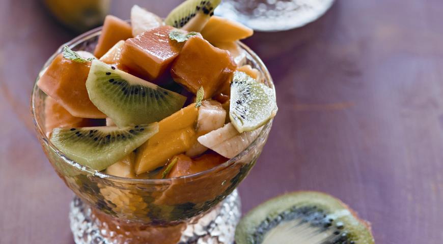 Рецепт Лаосские фрукты в пряном сиропе