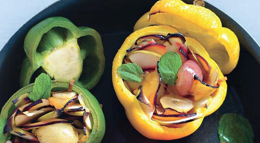 Рецепт Перцы, фаршированные фруктами