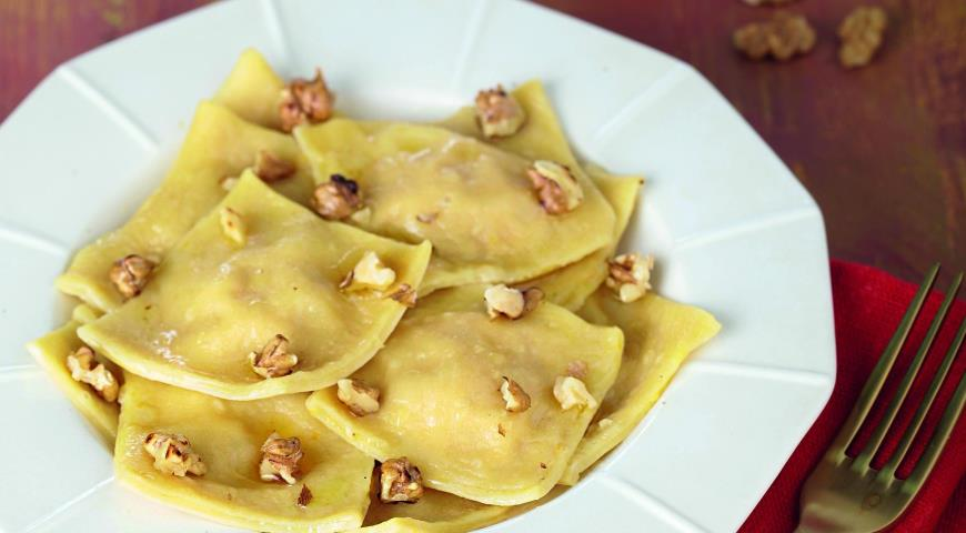 Рецепт Сицилийские равиоли с тыквой