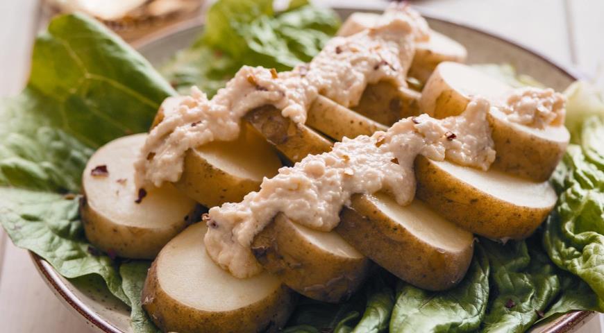 Рецепт Острый картофель с сыром