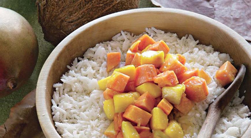 Рецепт Рис с фруктами по-малийски