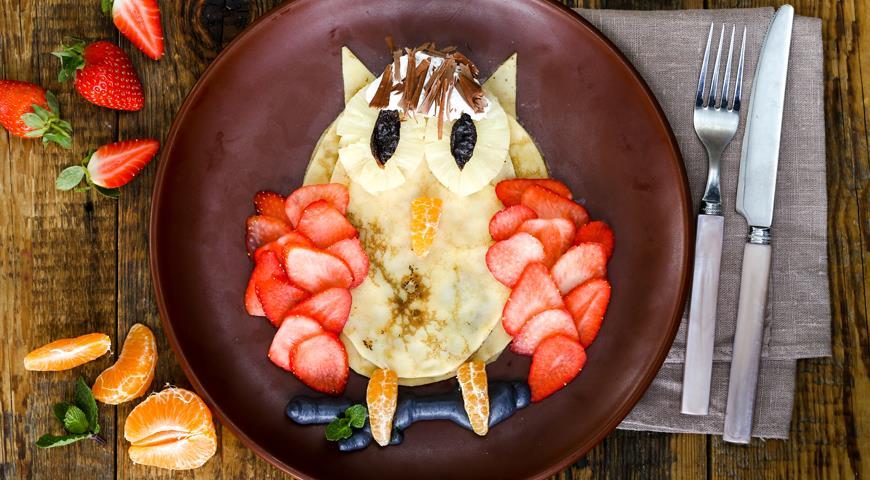 салат фото с для Завтраки детей рецепты