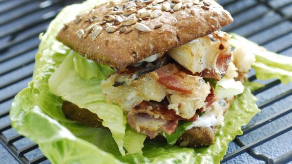 Сэндвичи, бутерброды, бурито с мясом