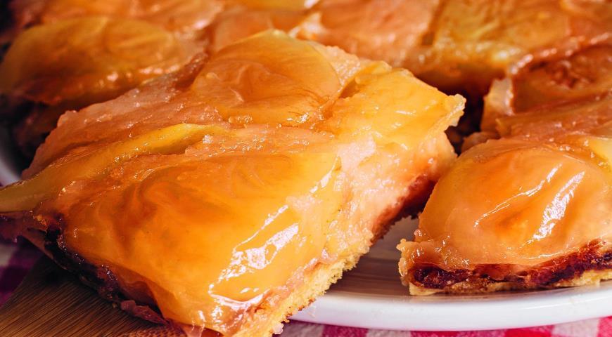 Рецепт Янтарный пирог Татьяны Толстой