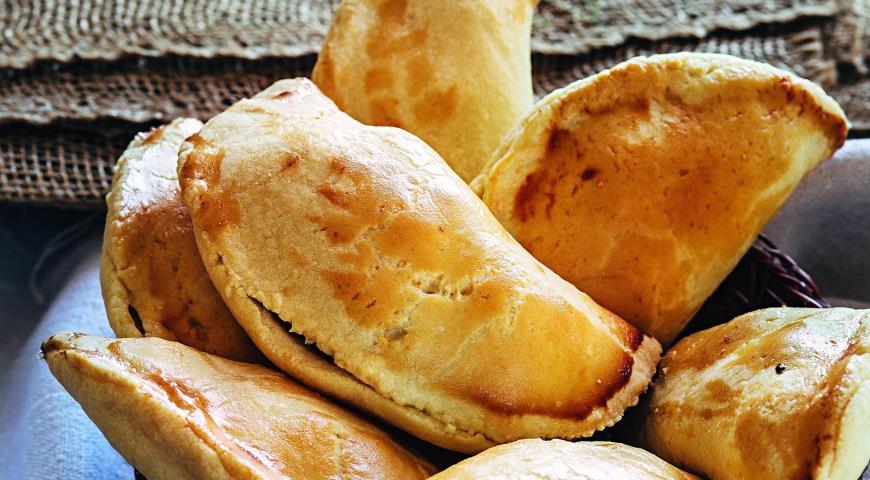 Рецепт Пирожки с картофелем и брынзой
