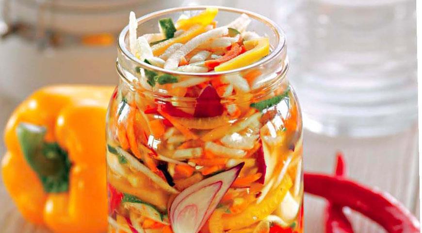 Рецепт Маринованные овощи в азиатском стиле