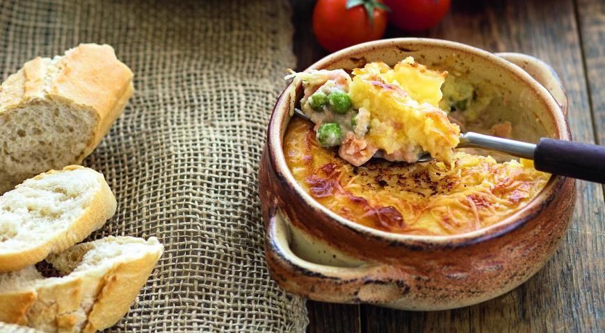 Рецепт Английский рыбный пирог