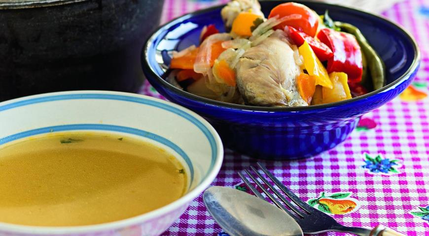 Рецепт Шурпа из курицы