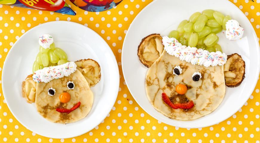 рецепт блинчиков для ребенка двух лет