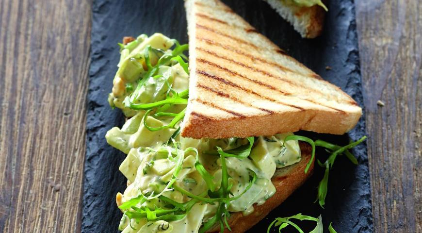Рецепт Сэндвичи с яичным салатом