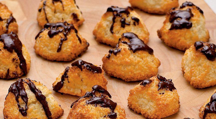 Кокосове печиво з шоколадом